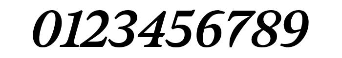 Meno Text Semi Bold Italic Font OTHER CHARS