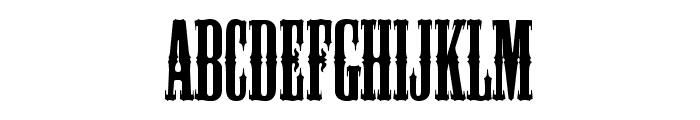 Mesquite Std Medium Font UPPERCASE