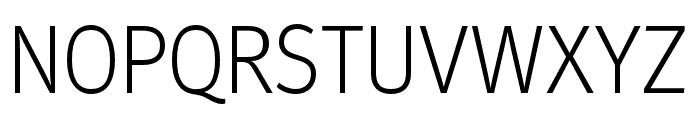 Meta Headline Pro Comp Light Font UPPERCASE