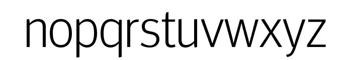 Meta Headline Pro Comp Light Font LOWERCASE