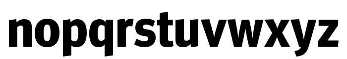 Meta Headline Pro Cond Bold Font LOWERCASE