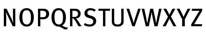 Meta Pro Book Font UPPERCASE
