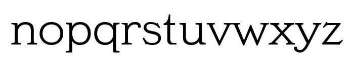 MeyerTwo Condensed Font LOWERCASE