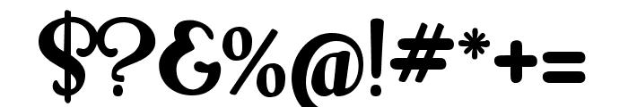 Milk Script Alternate Regular Font OTHER CHARS