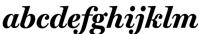 Miller Text Bold Italic Font LOWERCASE