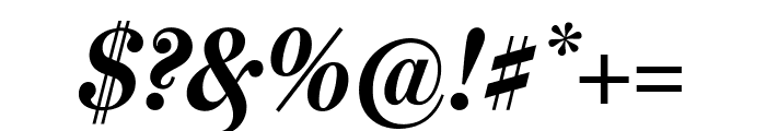 MillerHeadline Bold Italic Font OTHER CHARS