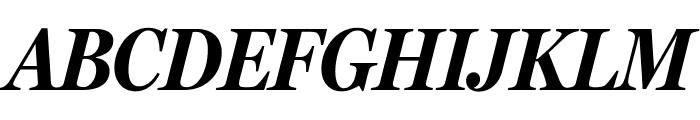 MillerHeadline Bold Italic Font UPPERCASE