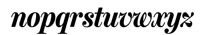 MillerHeadline Bold Italic Font LOWERCASE