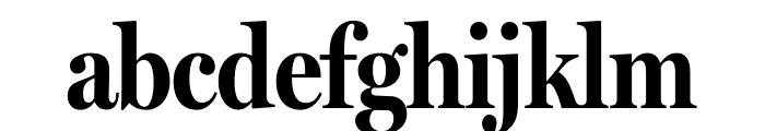 MillerHeadline Bold Font LOWERCASE