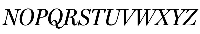 MillerHeadline Italic Font UPPERCASE