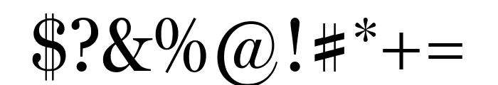 MillerHeadline Roman Font OTHER CHARS