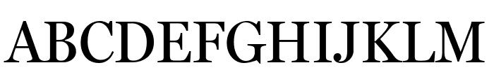 MillerHeadline Roman Font UPPERCASE