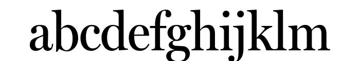 MillerHeadline Roman Font LOWERCASE