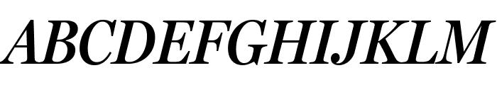MillerHeadline SemiBold Italic Font UPPERCASE