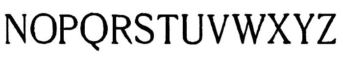 Millesime Regular Font UPPERCASE