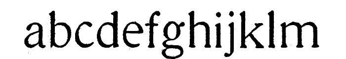 Millesime Regular Font LOWERCASE
