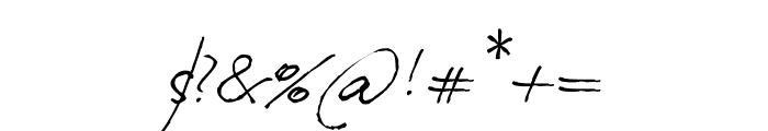Milonguita Regular Font OTHER CHARS