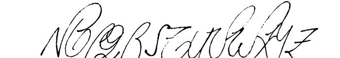 Milonguita Regular Font UPPERCASE