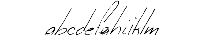 Milonguita Regular Font LOWERCASE