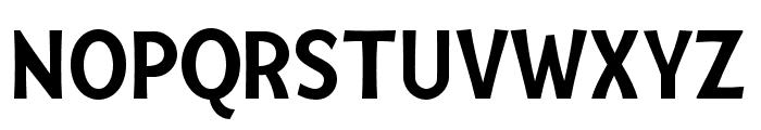 Mingler Bold Italic Font UPPERCASE