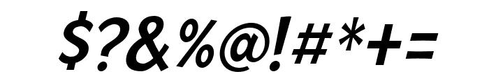 Mingler Medium Italic Font OTHER CHARS