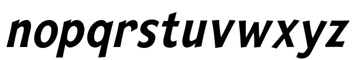 Mingler Medium Italic Font LOWERCASE