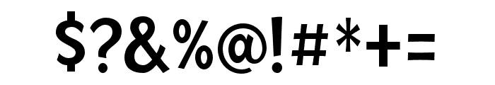Mingler Medium Font OTHER CHARS