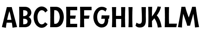 Mingler Medium Font UPPERCASE