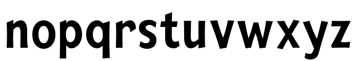 Mingler Medium Font LOWERCASE