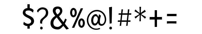 Mingler Regular Font OTHER CHARS