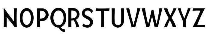 Mingler Regular Font UPPERCASE