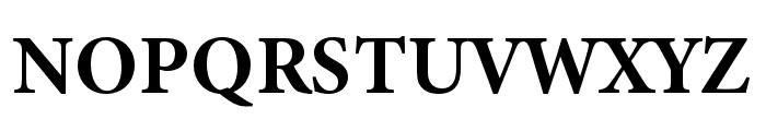 Minion 3 Bold Font UPPERCASE