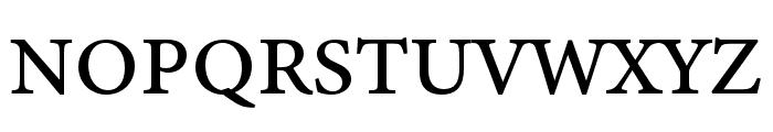 Minion 3 Caption Medium Font UPPERCASE