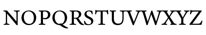 Minion 3 Caption Regular Font UPPERCASE