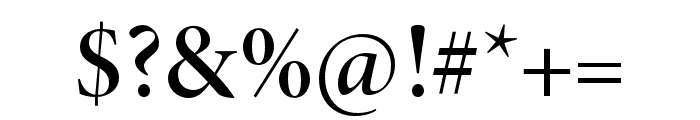 Minion 3 Display Semibold Font OTHER CHARS