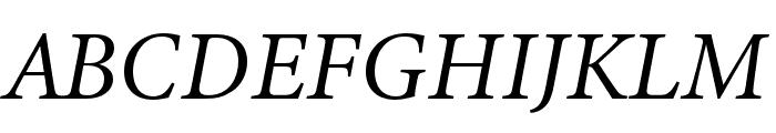Minion 3 Italic Font UPPERCASE