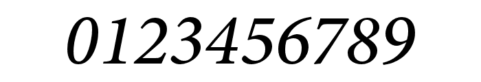 Minion 3 Medium Italic Font OTHER CHARS