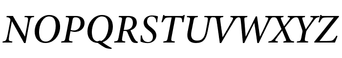 Minion 3 Medium Italic Font UPPERCASE