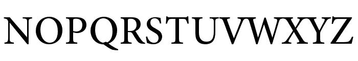 Minion 3 Medium Font UPPERCASE