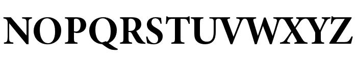 Minion 3 Subhead Bold Font UPPERCASE