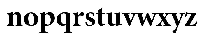 Minion 3 Subhead Bold Font LOWERCASE