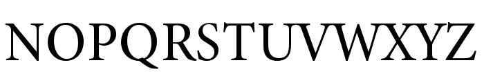 Minion 3 Subhead Medium Font UPPERCASE