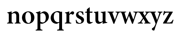 Minion 3 Subhead Semibold Font LOWERCASE