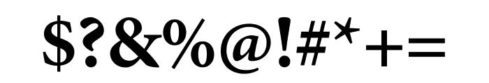 Minion Pro Bold Caption Font OTHER CHARS