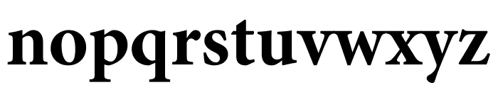 Minion Pro Bold Cond Caption Font LOWERCASE