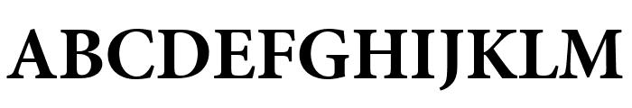 Minion Pro Bold Subhead Font UPPERCASE
