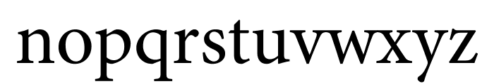Minion Pro Cond Caption Font LOWERCASE
