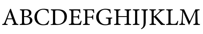 Minion Pro Cond Font UPPERCASE
