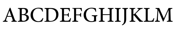 Minion Pro Medium Cond Caption Font UPPERCASE