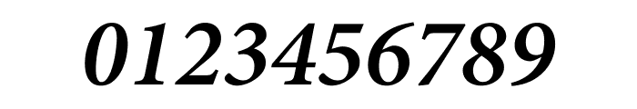 Minion Pro Semibold Cond Italic Caption Font OTHER CHARS